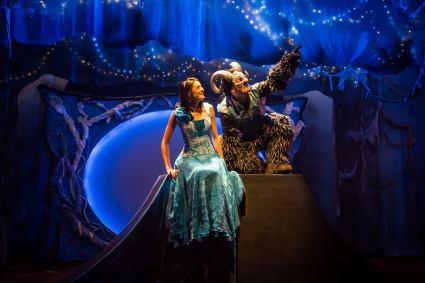 Memorable Performers Irinka Kavsadze as Belle, Vato Tsikurishvili as The Beast Synetic Washington December 2014
