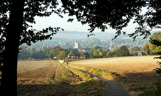 Preserving a rural idyll in London's green belt: Old Amersham in Buckinghamshire. Photograph: Moravka Images/Alamy